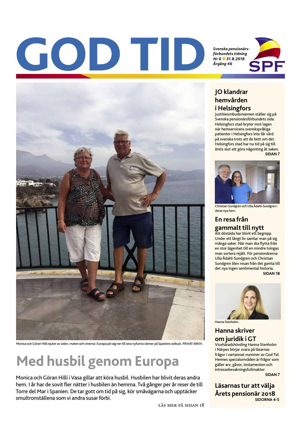 festsånger 50 år God Tid 6/2018 by Svenska pensionärsförbundet, God Tid   issuu festsånger 50 år