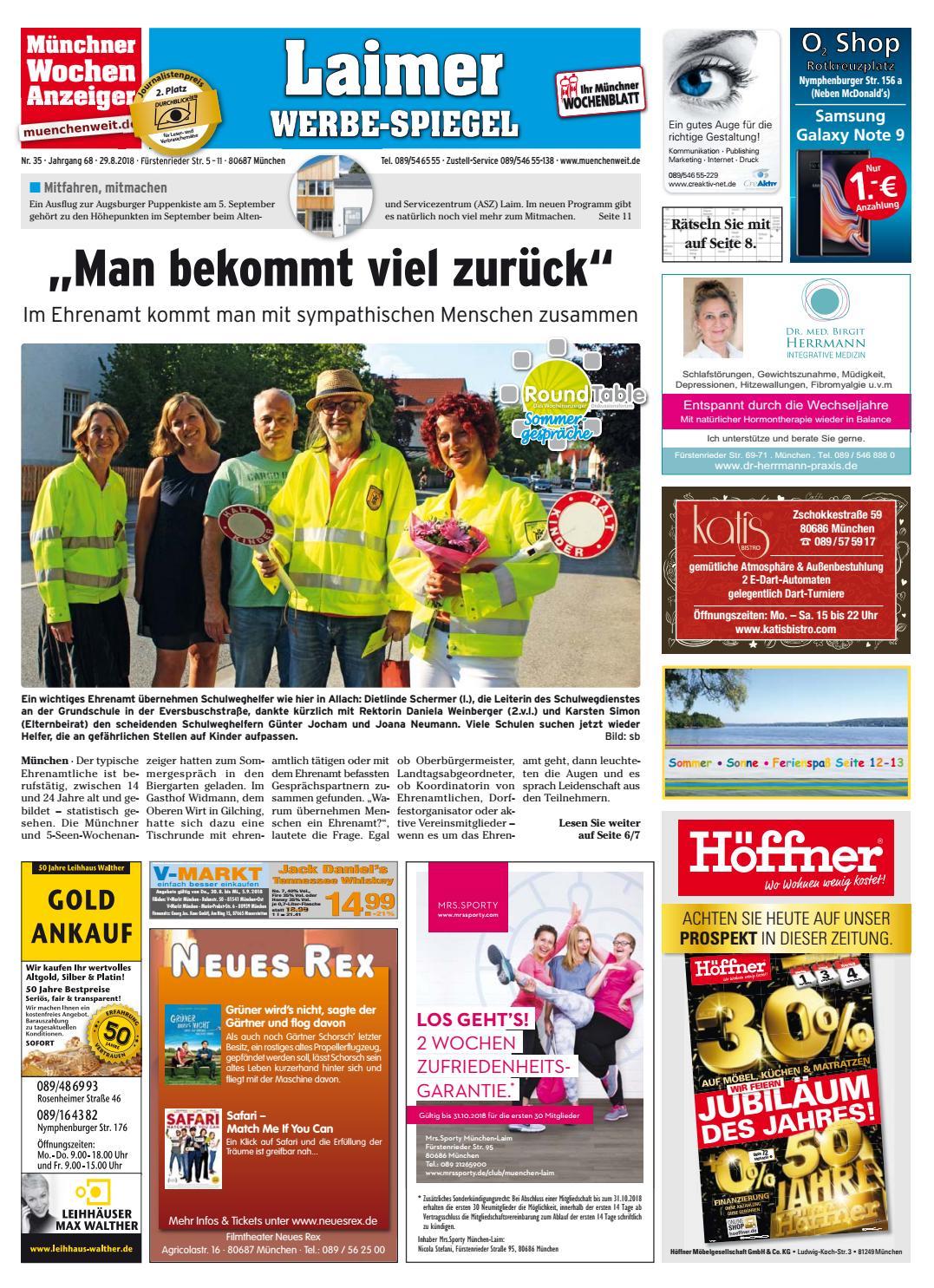 KW 35-2018 by Wochenanzeiger Medien GmbH - issuu