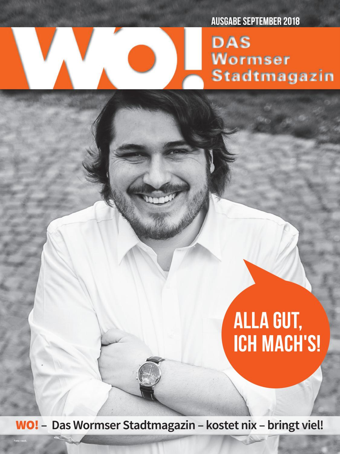 WO! Das Wormser Stadtmagazin September 2018 by WO! – DAS Wormser  Stadtmagazin - issuu