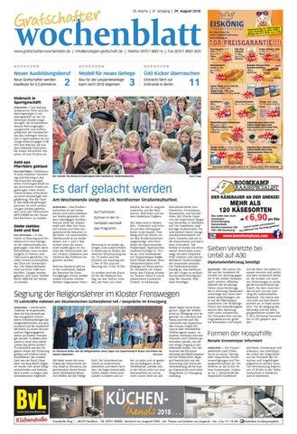Grafschafter Wochenblatt29 08 2018 By Grafschafter Nachrichten Issuu
