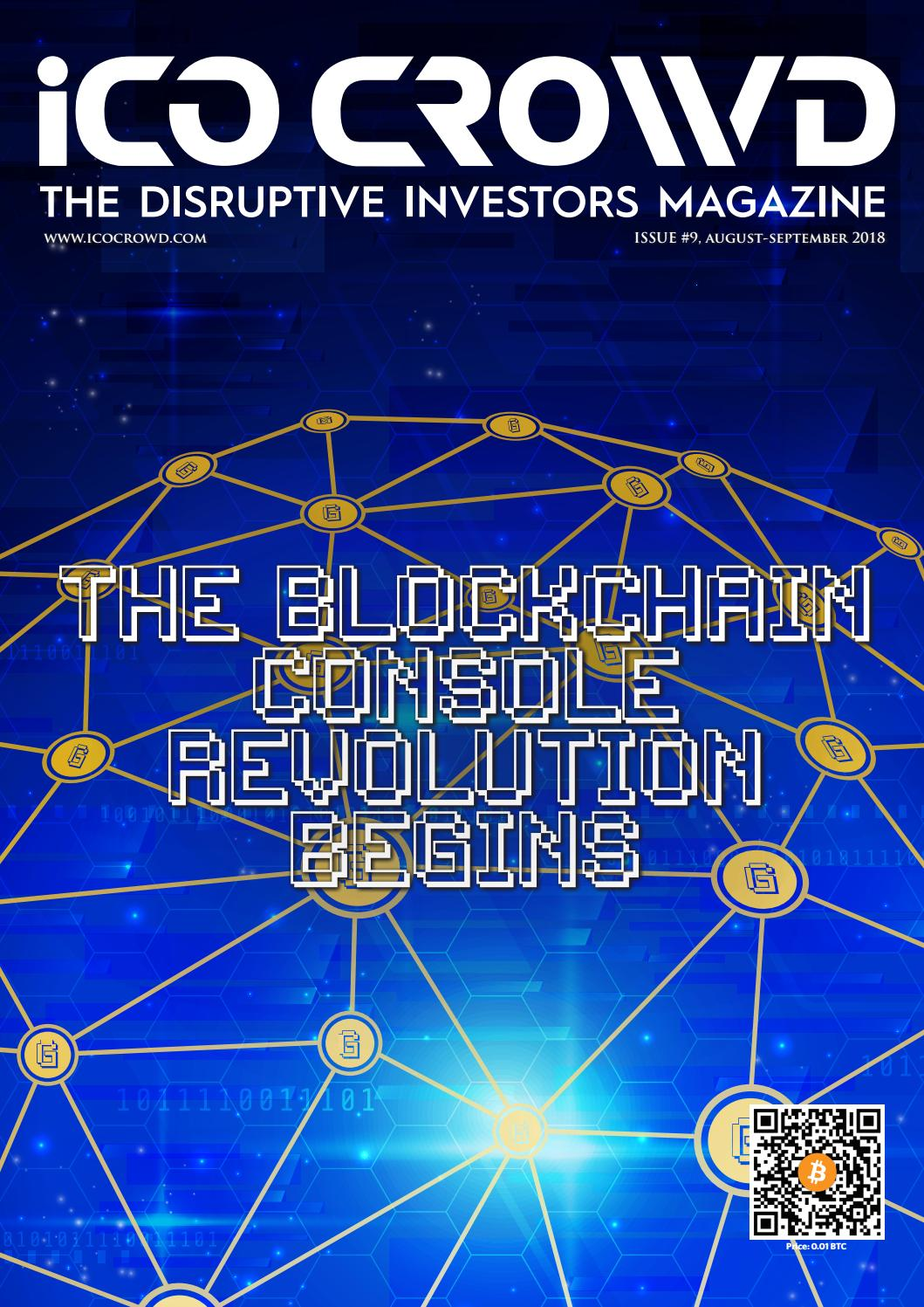 Issue 9: The Blockchain Console Revolution Begins by Ico