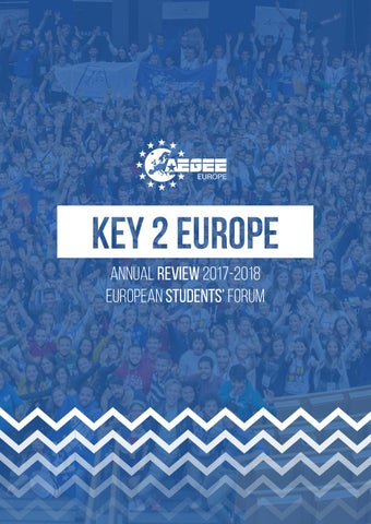 a7e71b77 Key To Europe 2017/2018 by AEGEE-Europe - issuu