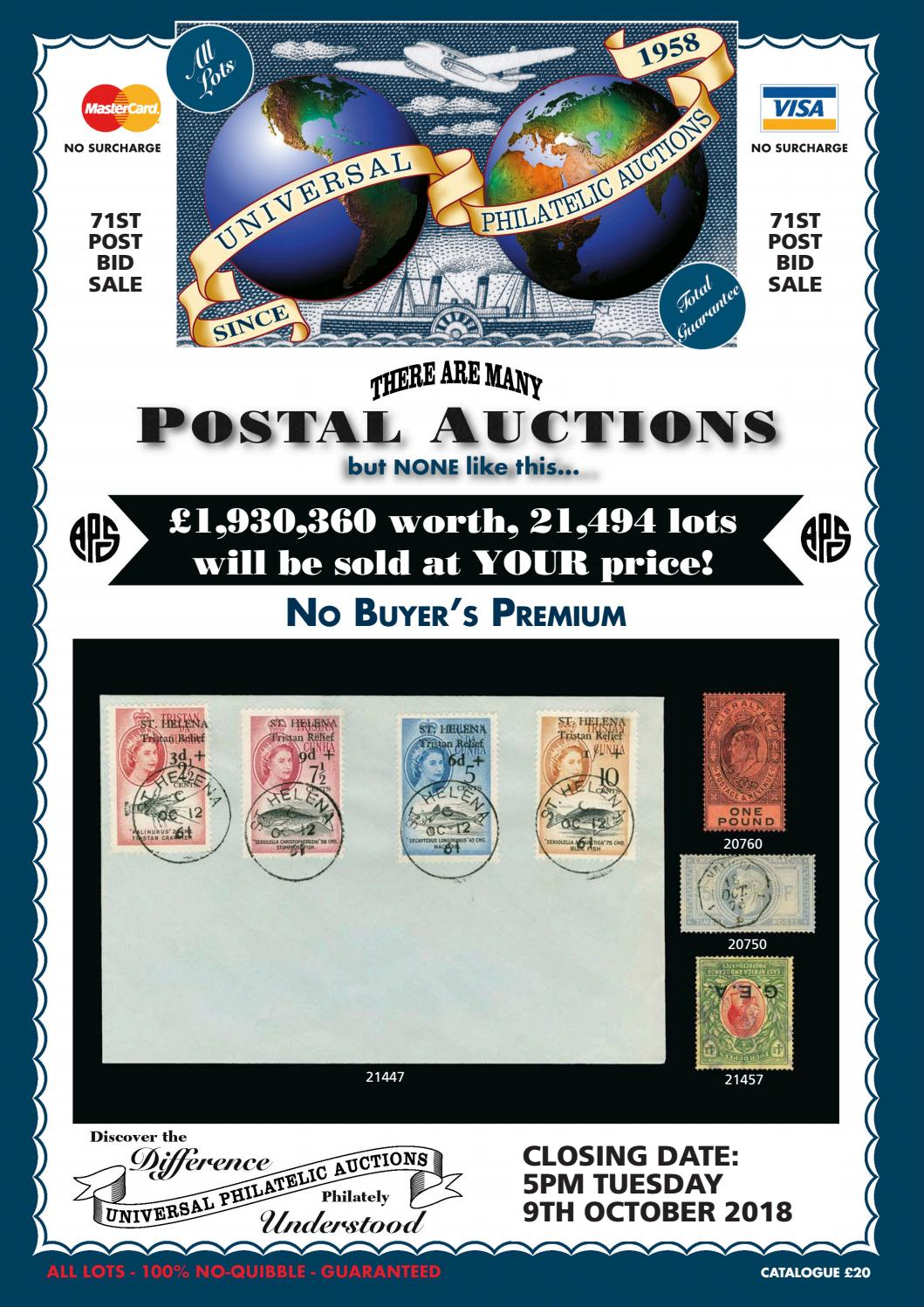 Univeral Philatelic Auctions by ATGPark - issuu