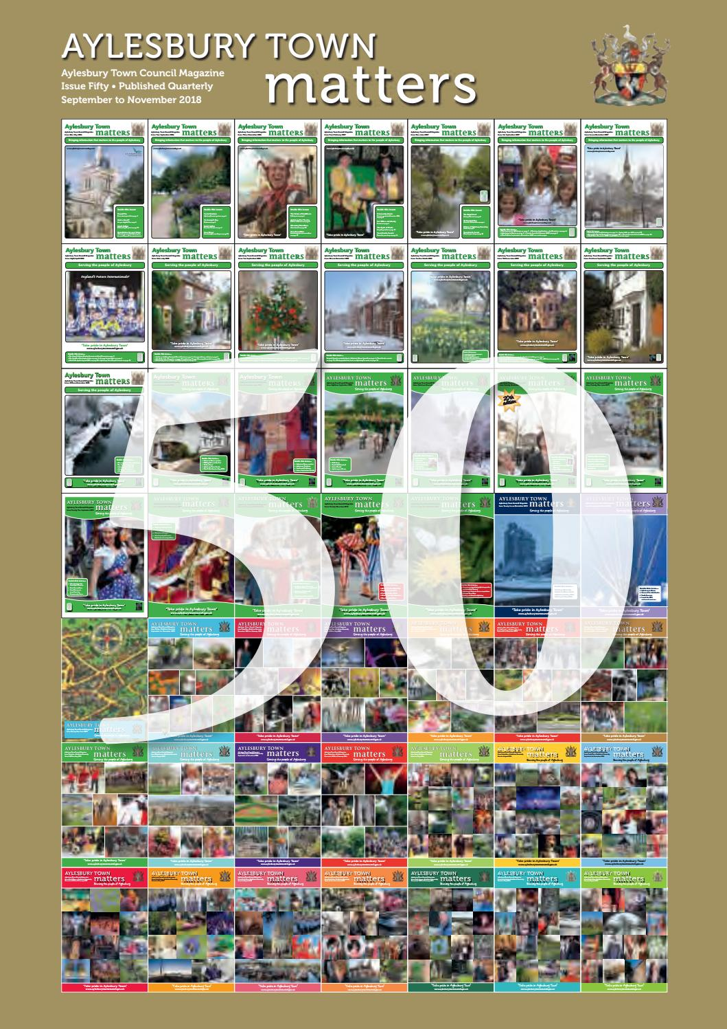 Aylesbury Town Matters: Issue 50 by Aylesbury Town Council - issuu