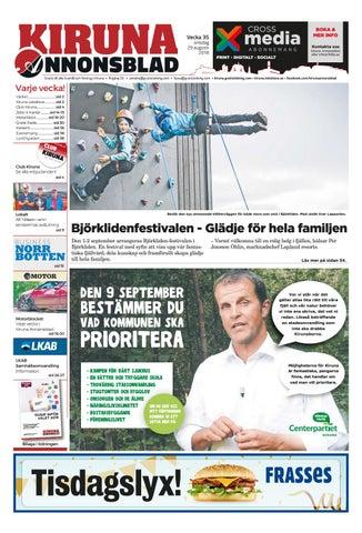 brand new 3f365 2b732 Kiruna Annonsblad vecka 35, 2018 by Svenska Civildatalogerna AB - issuu