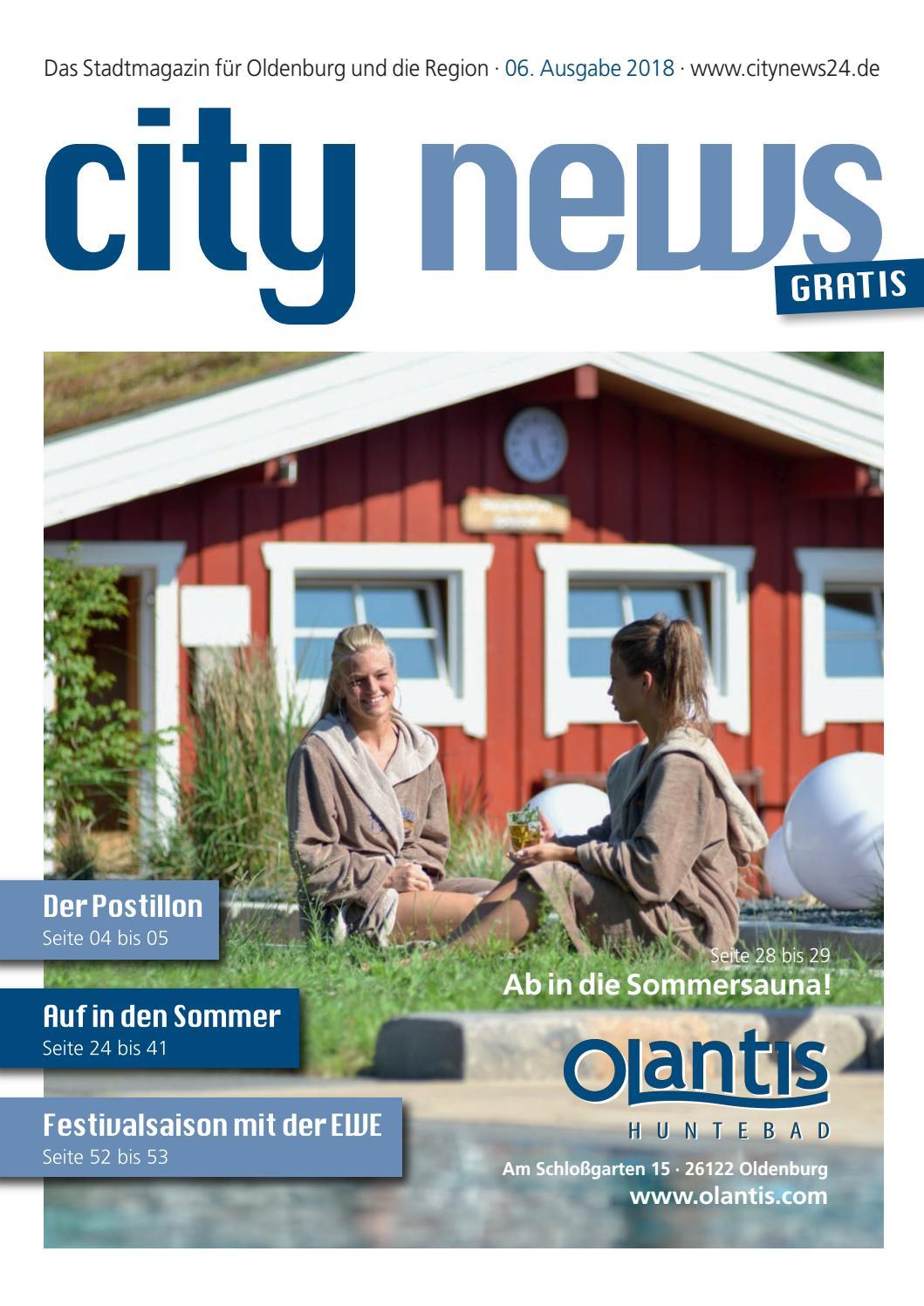 City News Oldenburg 6te Ausgabe 2018 By Citynews Oldenburg