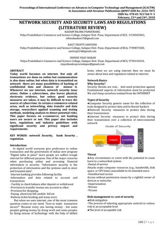 literature review on network security