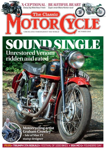 80c477a4235 The Classic MotorCycle - October 2018 - Preview by Mortons Media ...