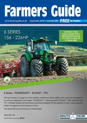 122d962e3c6 Farmers Guide September 2018 by Farmers Guide - issuu