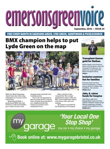 Emersons Green Voice September 2018 By Emersons Green Voice Issuu
