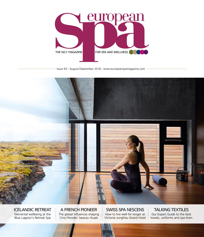 95cf8ad1d4 European Spa magazine Issue 65 by European Spa magazine - issuu