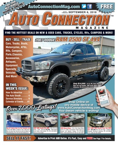 09-06-18 Auto Connection Magazine by Auto Locator and Auto