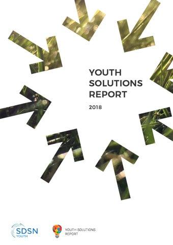 Youth Solutions Report 2018 by Youth Solutions Report - issuu