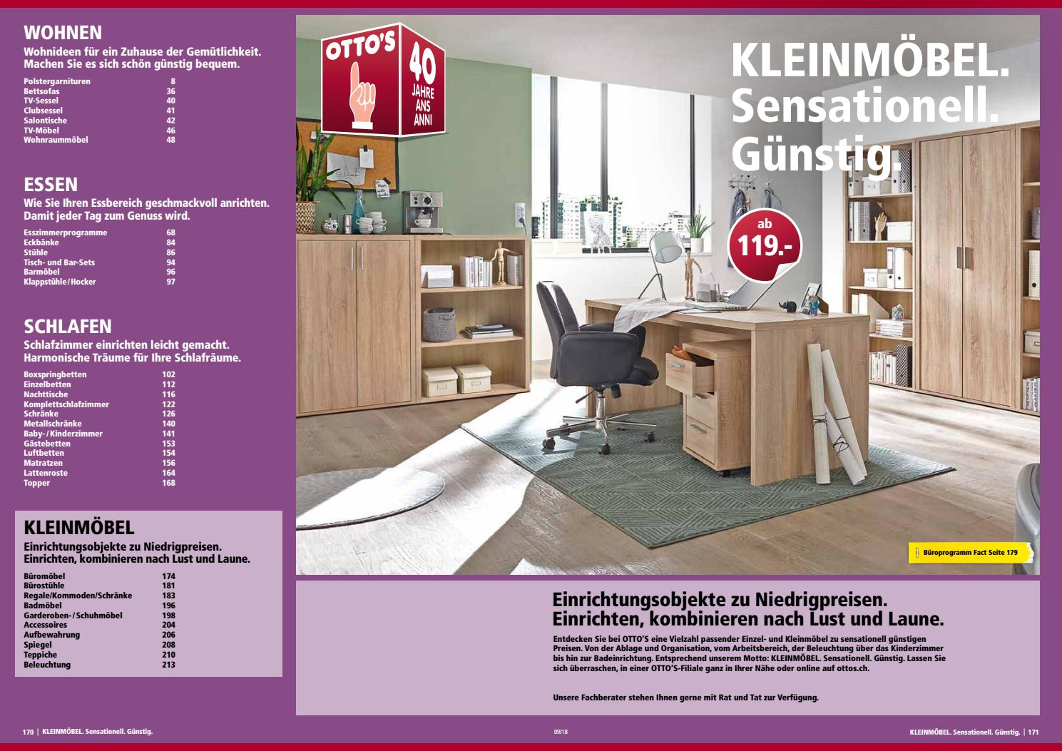 Ottos Möbekatalog Kleinmöbel By Ottos Ag Issuu