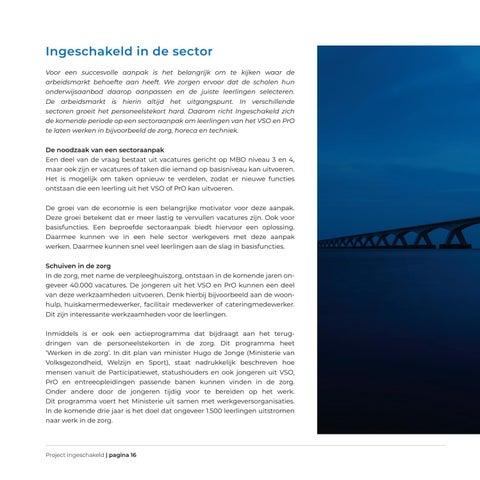 Page 16 of Ingeschakeld in de sector