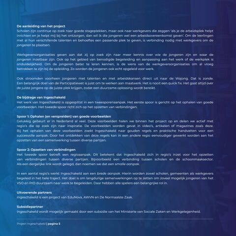 Page 5 of Kennismaken met Ingeschakeld