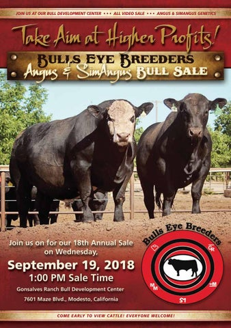 Bulls Eye Breeders Catalog 2018 by Eberspacher Enterprises