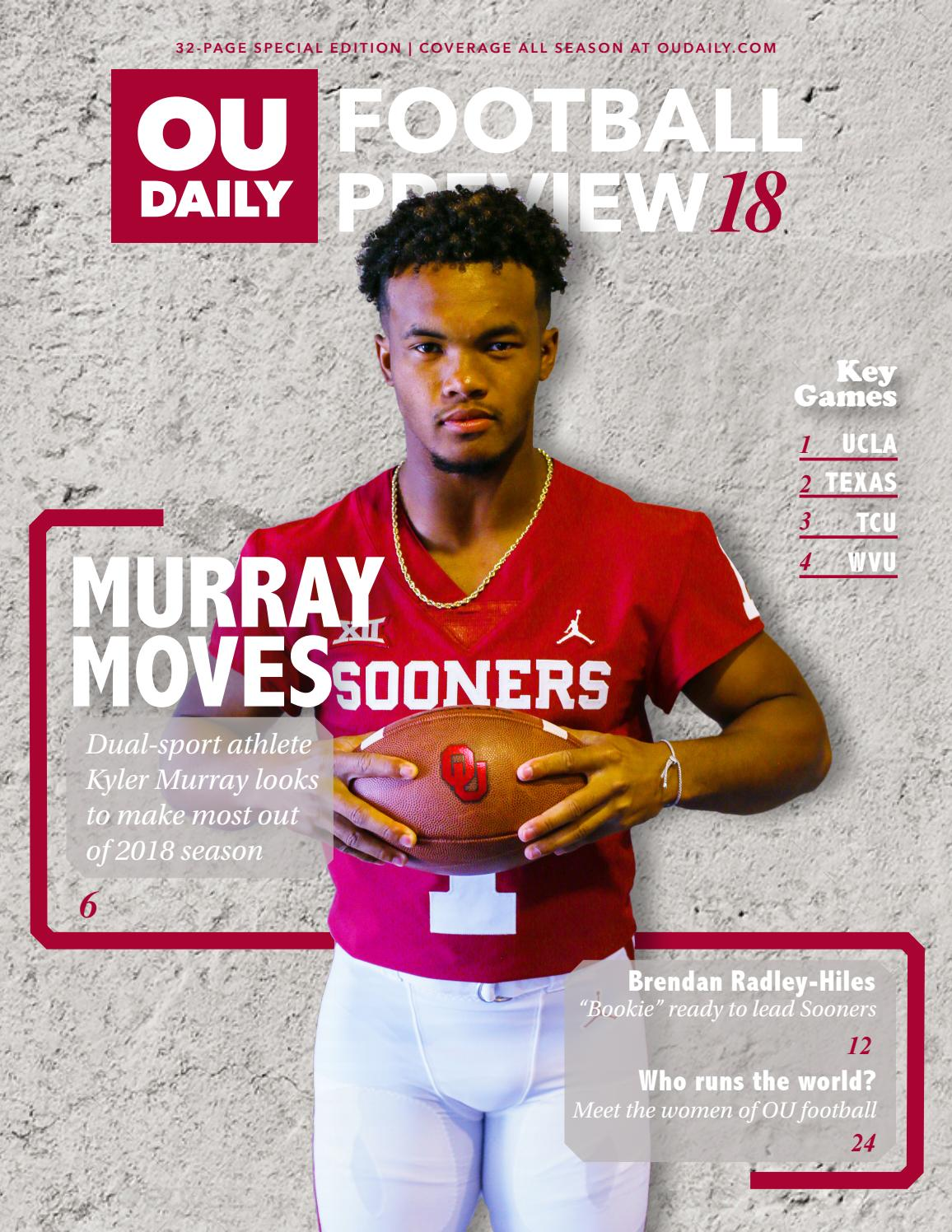 2018 OU Football Preview magazine by OU Daily - issuu 4a7721bbe