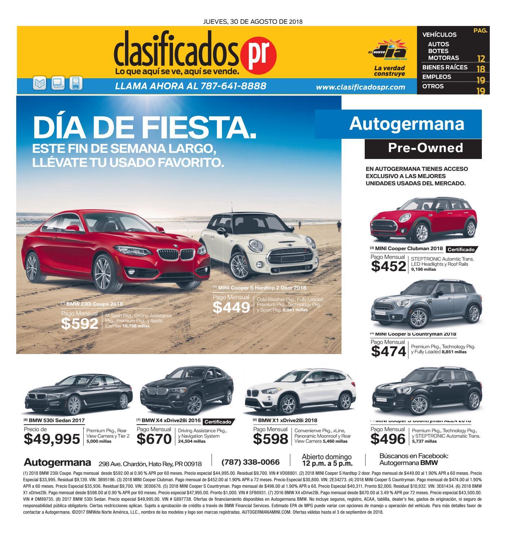 2f5d1035421 ClasificadosPR 08 30 2018 by ClasificadosPR.com - issuu