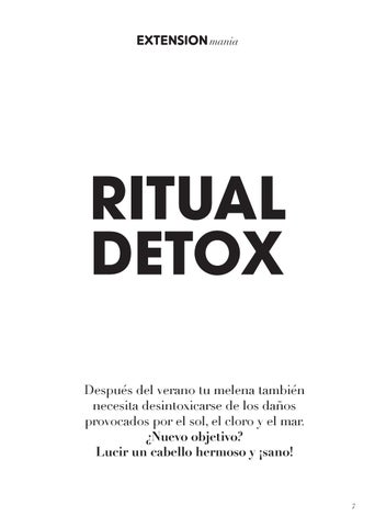 Page 7 of Ritual Detox para cabellos estresados