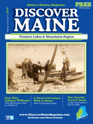 2018 Western Lakes & Mountains Region by Discover Maine