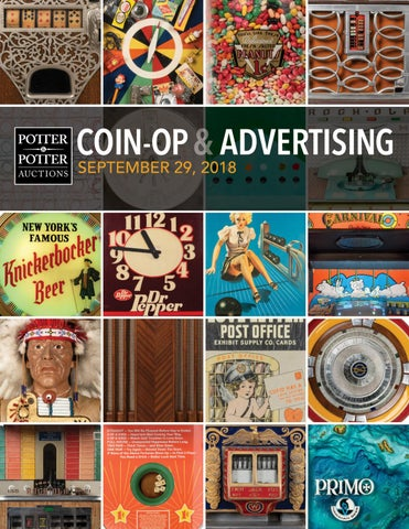 Coin-Op & Advertising by PotterAuctions - issuu