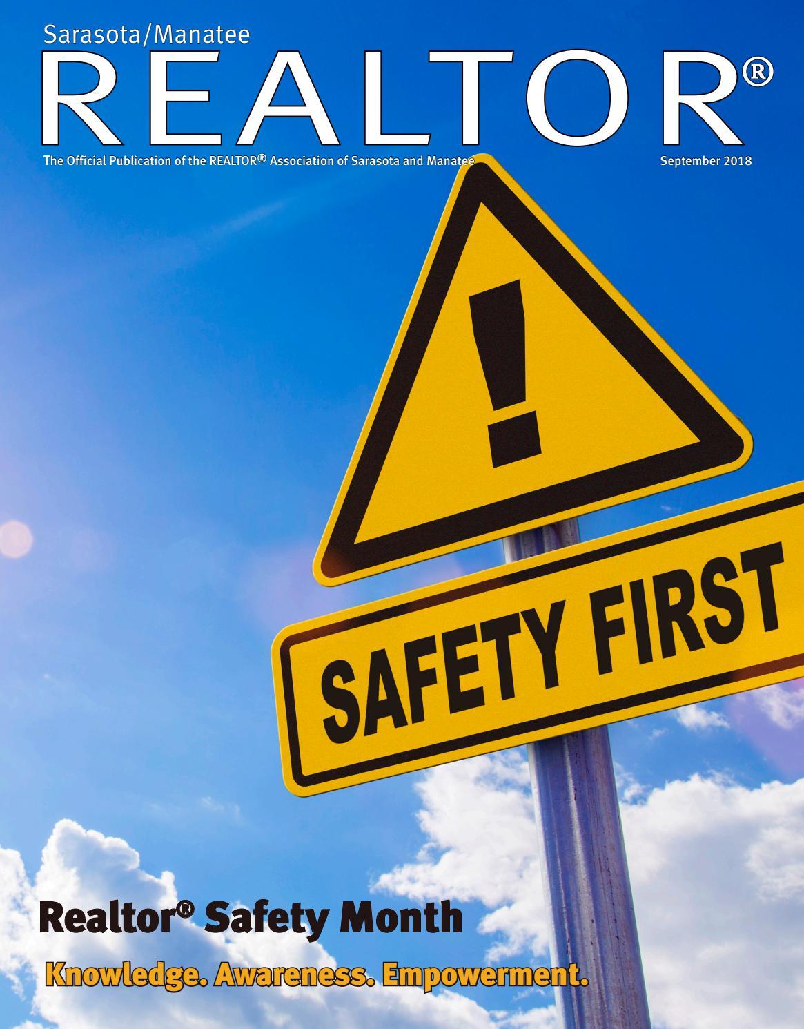 Sarasota Manatee Realtor Magazine - RASM - August 2018 Issue