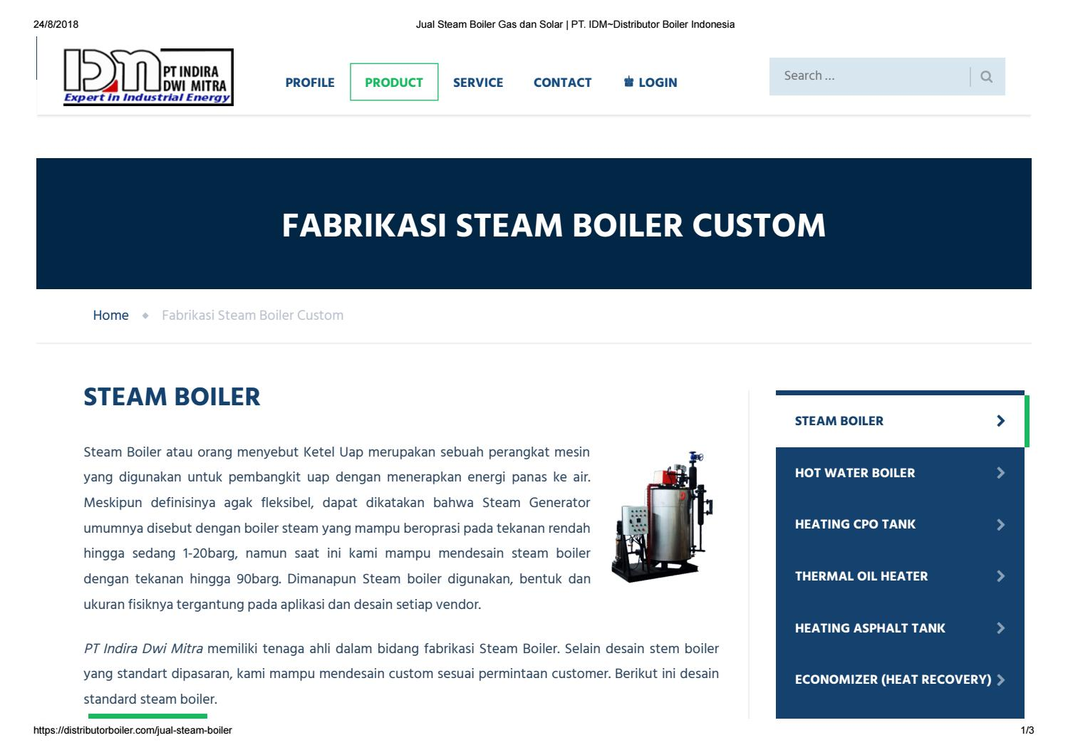 Jual Steam Boiler Gas Lpg Pgn Cng By Di Indonesia Bolier Ketel Uap Issuu