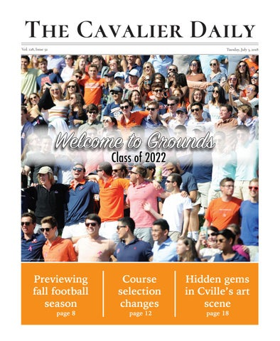 745ccbfc8 Tuesday, July 3, 2018 by The Cavalier Daily - issuu
