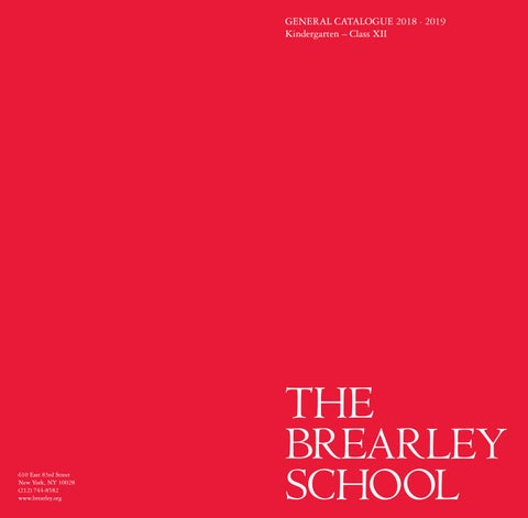 General Catalogue 2018-2019 by The Brearley School - issuu