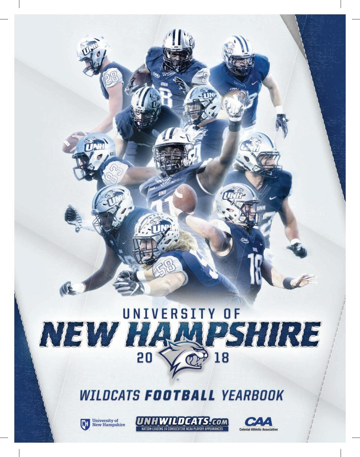 11f30102b6 UNH 2018 Football Yearbook by University of New Hampshire Athletics - issuu