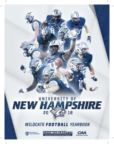 UNH 2018 Football Yearbook by University of New Hampshire Athletics ... e62a8d8bf