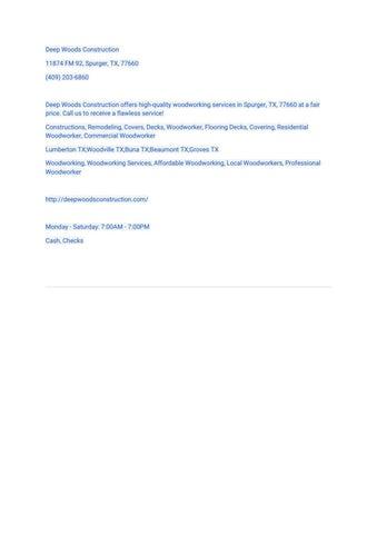 Beaumont TX Digital Magazine - Town Square Publications