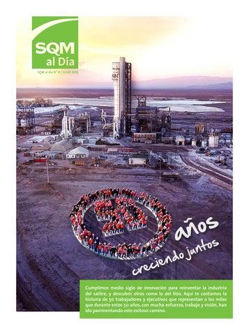 50 Años Creciendo Juntos Sqm Sqm