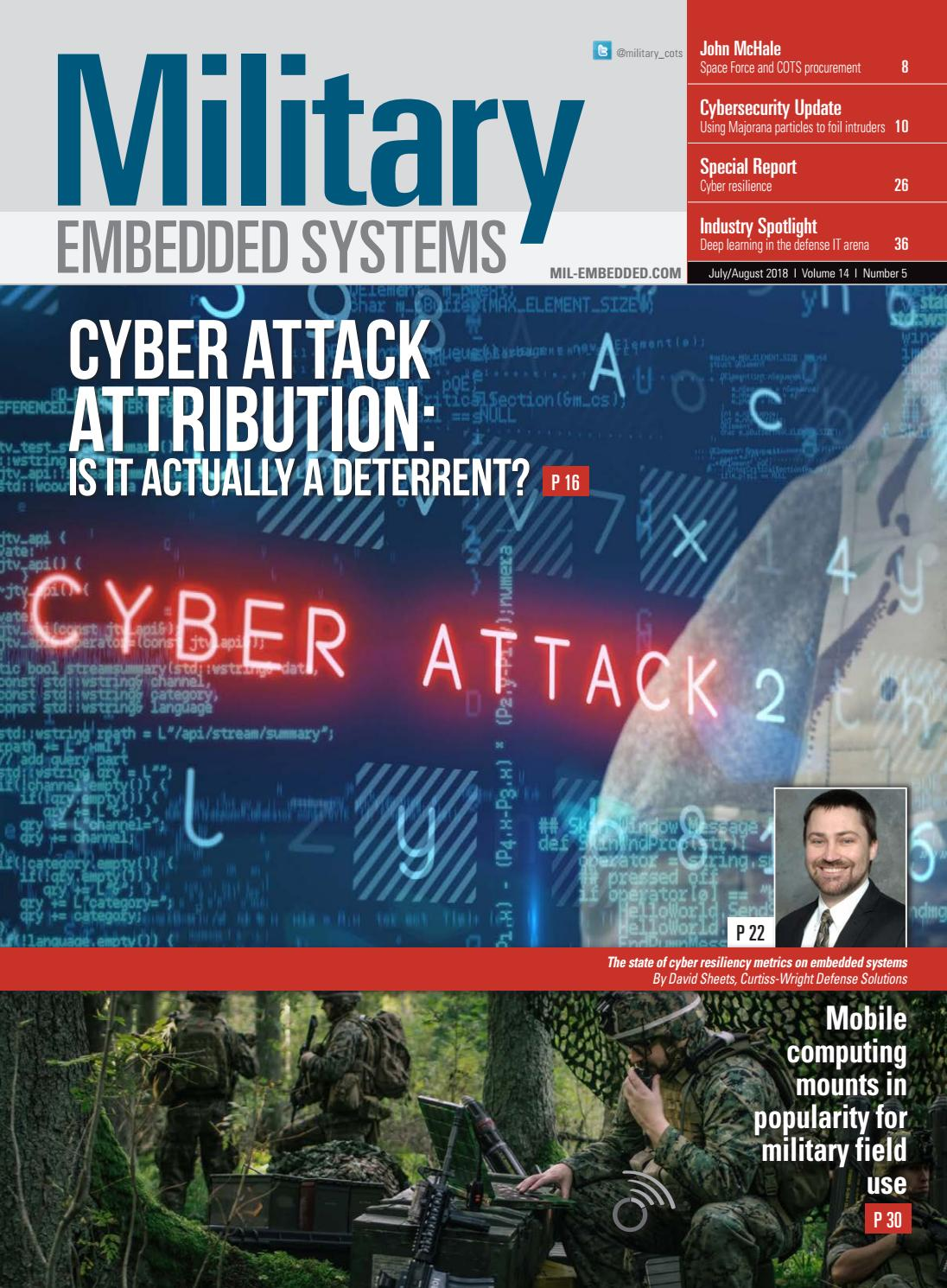 Military Embedded Systems July August 2018 By Opensystems Media Issuu Afrl Seeks Info On Future Electronic Warfare Ew Receiver