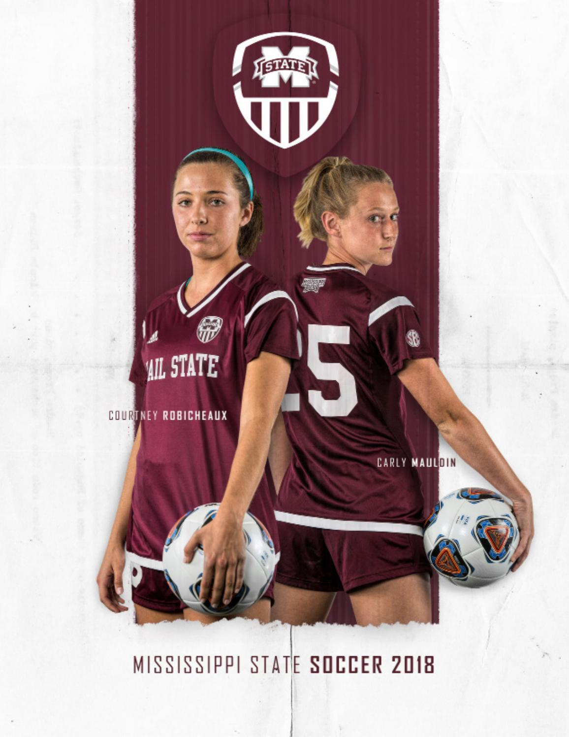 c5fc48dbf 2018 Mississippi State Soccer Media Guide by Mississippi State University  Athletics - issuu