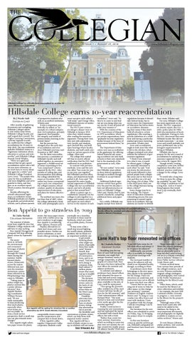 Hilldale Wind O Meter Registers >> Hillsdale Collegian 8 29 18 By The Hillsdale Collegian Issuu