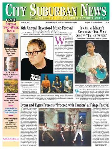 550ce5ba13d City Suburban News 8 29 18 issue by City Suburban News - issuu