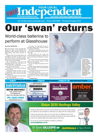 Your Local Independent 30th August 2018 by Your Local Independent