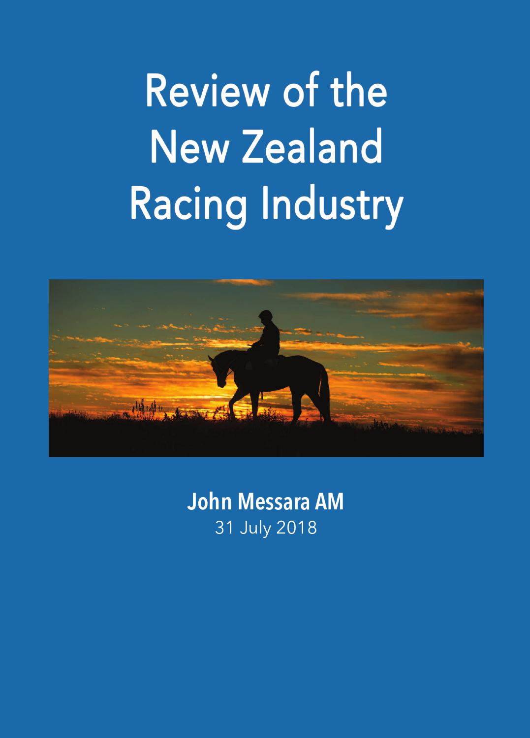 nzrb betting rules for horse