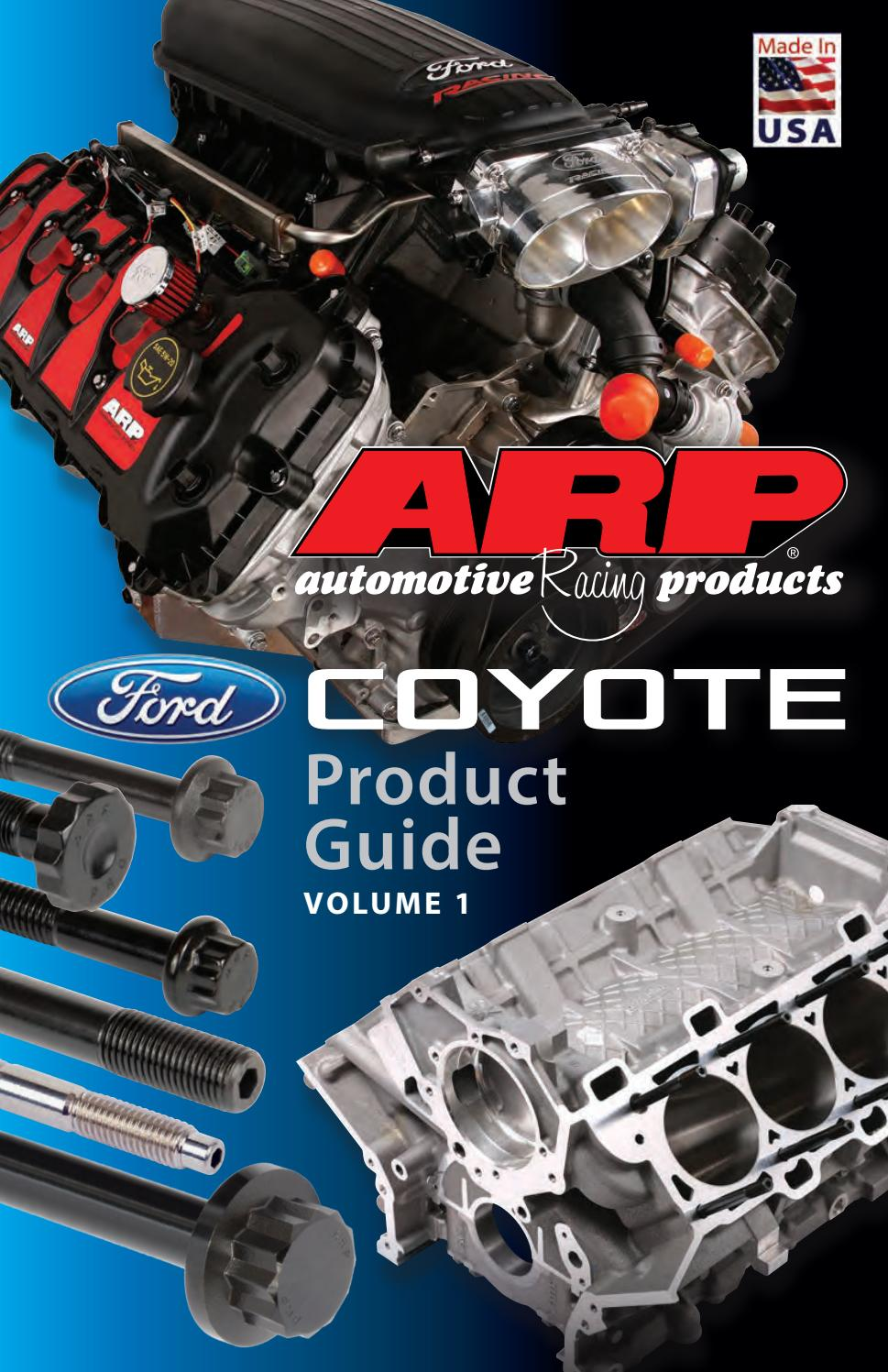 ARP Bolts 156-5803 Ford 5.0L Coyote main stud kit