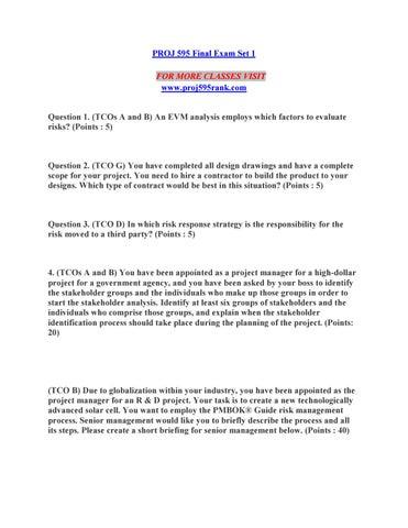 PROJ 595 RANK Lessons in Excellence-- proj595rank com by