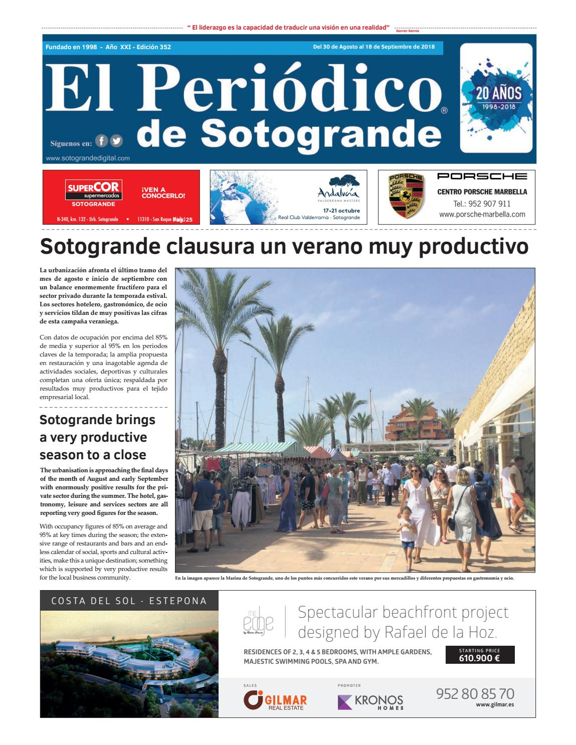 555da419e7 El Periódico de Sotogrande 352 by HCP GROUP SOTOGRANDE - issuu