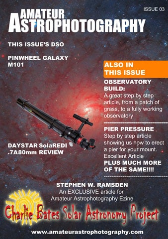 Amateur Astrophotography Ezine Issue 03 by astrophoto - issuu