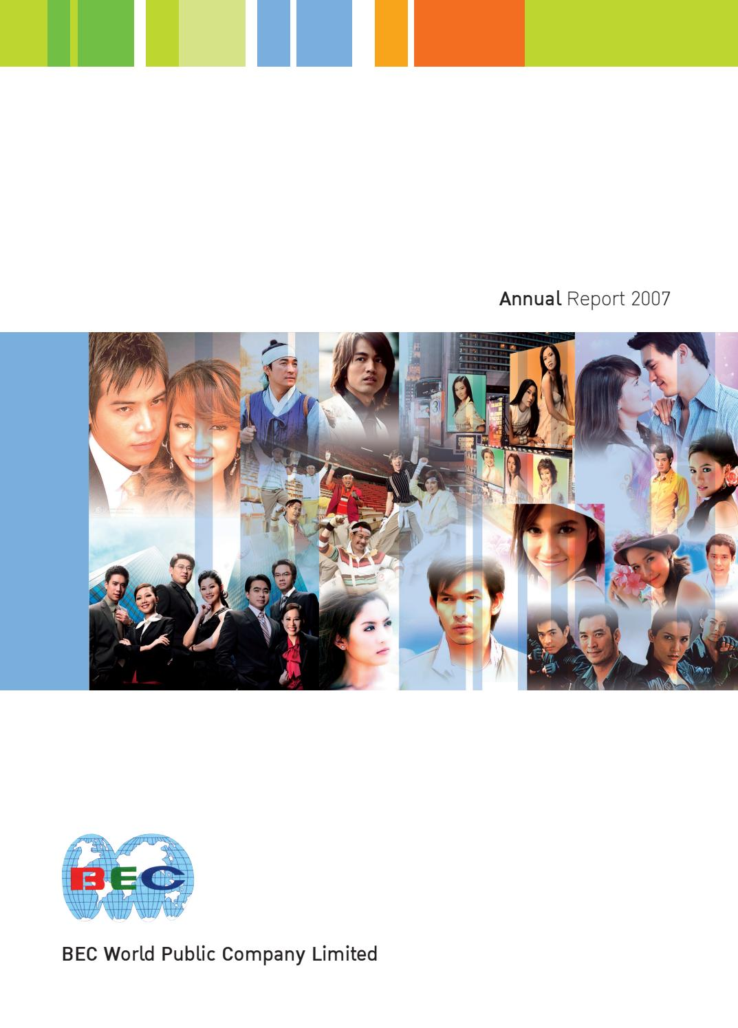 BEC: Annual Report 2007 by ar bec - issuu