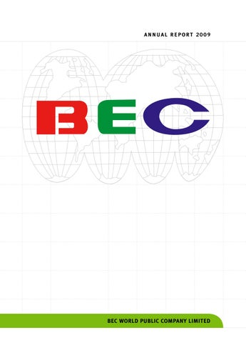 BEC: Annual Report 2009 by ar bec - issuu