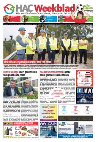HAC Weekblad week 35 2018 NL by HAC Weekblad - issuu