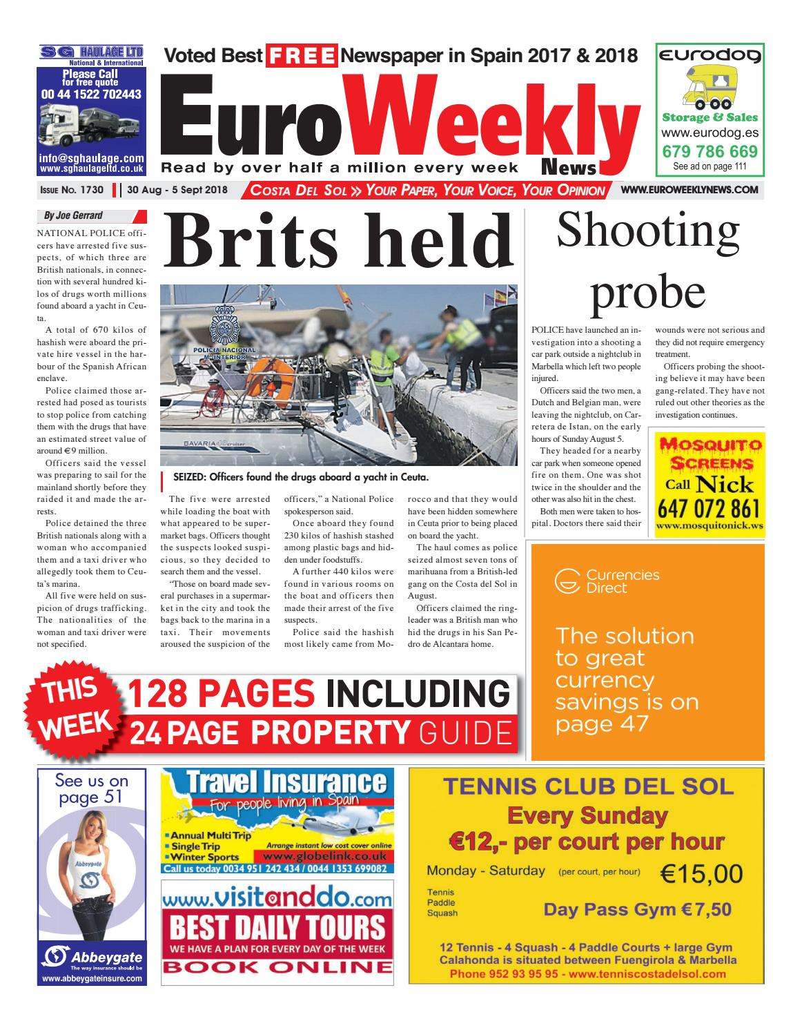 Euro Weekly News Costa del Sol 30 August 5 September