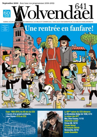 d04c9d1a3a77 Wolvendael magazine n° 637 mars 2018 by Centre Culturel d Uccle - issuu