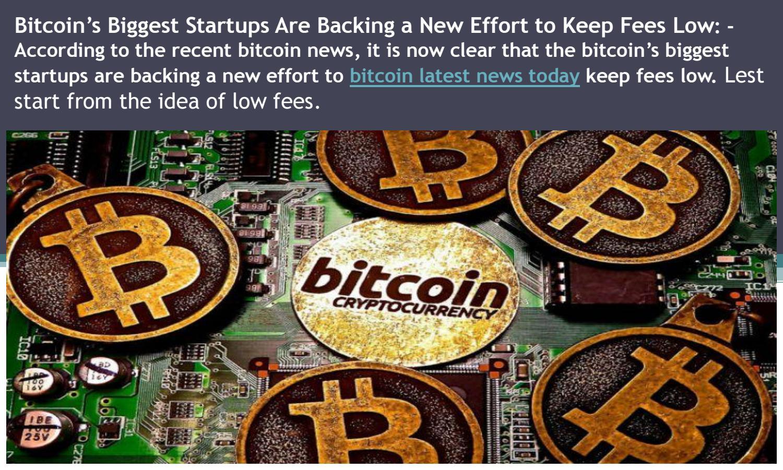 bitcoin news today)